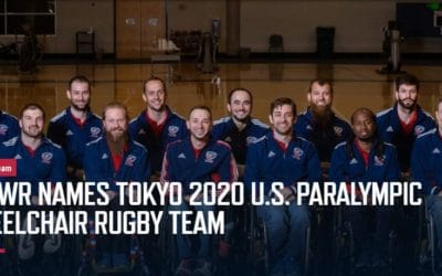 Joe Makes Paralympic Wheelchair Rugby Team for Tokyo