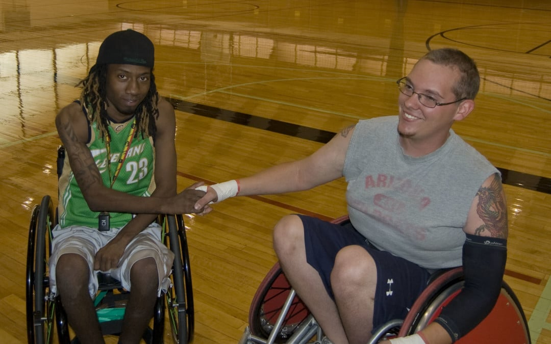THE JOE JACKSON FOUNDATION DONATES ITS 2ND RUGBY WHEELCHAIR