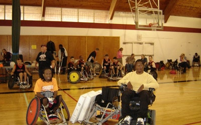 THE JOE JACKSON FOUNDATION DONATES ITS 1ST RUGBY WHEELCHAIR