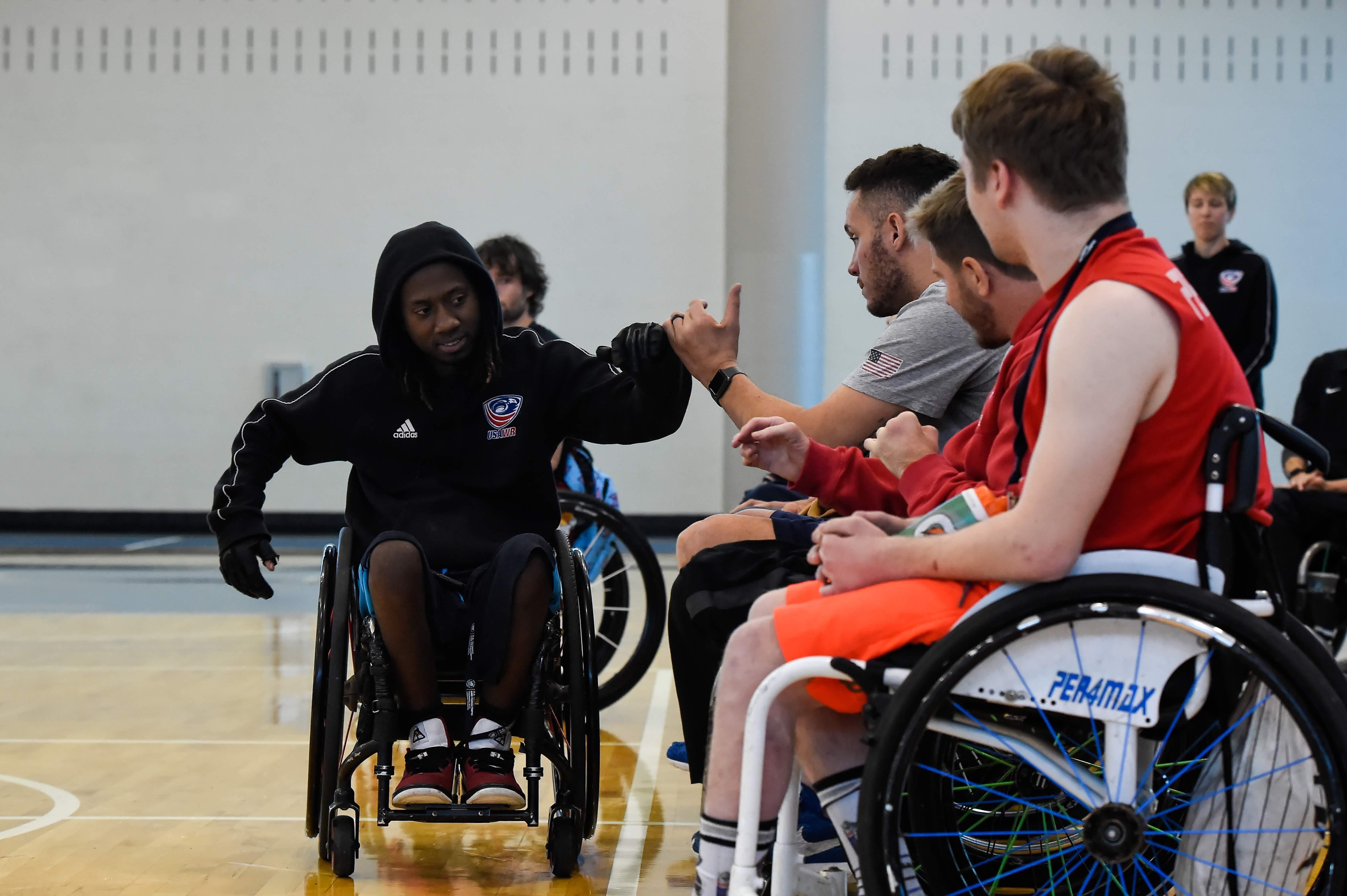 Wheelchair Rugby Career